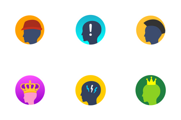 Avatars And Head  Icon Pack