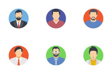 Avatars Flat Icons  Icon Pack