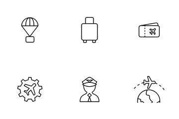 Aviation Thinline Icon Pack