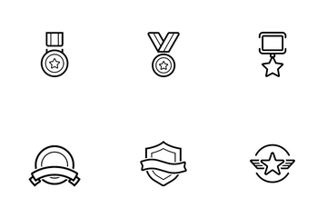 Award And Medal Icon Pack
