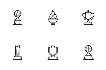 Award And Trophy Icon Pack