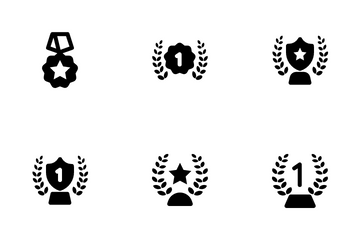 Award Solid Icon Pack