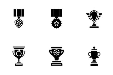 Awards Achievements Icon Pack
