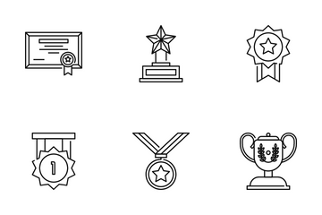Awards And Achievement Icon Pack