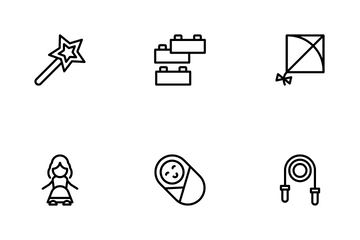 Babies & Toys Icon Pack