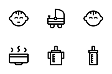 Baby And Kid Icon Pack