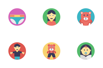Baby And Kids 2 Icon Pack