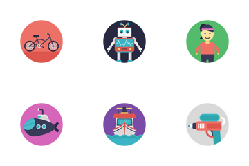 Baby And Kids 3 Icon Pack