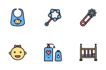 Baby And Toys Icon Pack