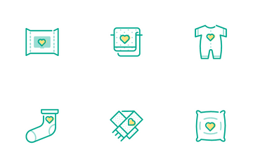 Baby Care Life Icon Pack
