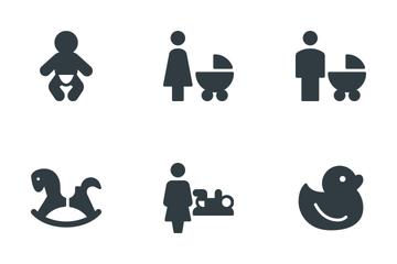 Baby & Children  Icon Pack