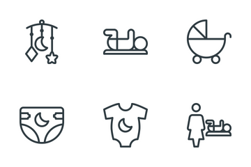 Baby & Children  Icon Pack