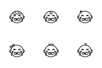 Baby Cry Child Babies Icon Pack