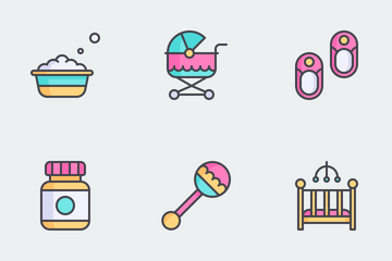 Baby Icon Set Icon Pack