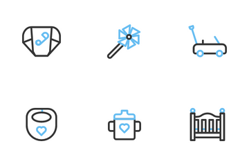 Baby & Kids Icon Pack