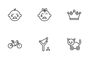 Baby, Kids & Toys Icon Pack