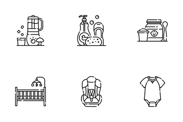 Baby Line - Parents Job Icon Pack