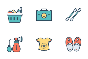 Baby Product Icon Pack
