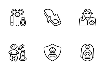 Baby's Health Icon Pack