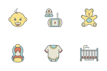 Baby Seating Icon Pack