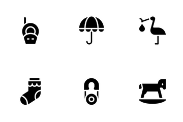 Baby Shower Icon Pack