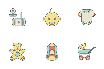 Baby Sitting Icon Pack