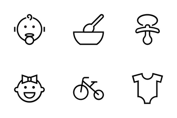 Baby Vector Icons Icon Pack