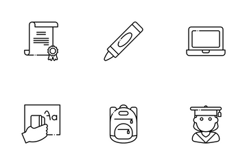 Back To School Icon Pack