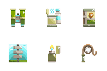 Backpacker Icon Pack