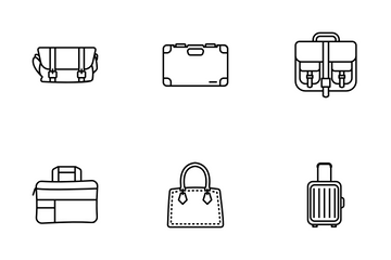 Backpacks Icon Pack