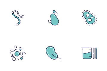 Bacteria Icon Pack
