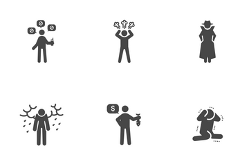 Bad Personality Icon Pack