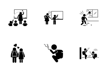 Bad Student Icon Pack