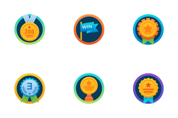 Badges Icon Pack