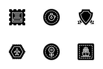Badges And Stamps Icon Pack