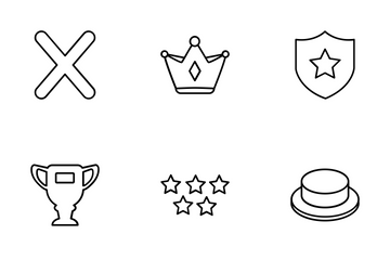 Badges And Votes Icon Pack