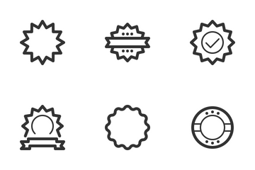 Badges & Stamps Icon Pack