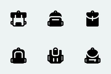 Bag Model Icon Pack