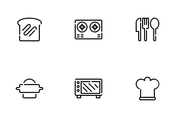 Bakery And Bread Icon Pack