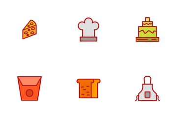 Bakery Flat Icon Pack