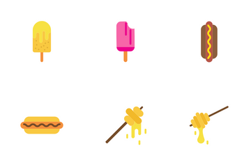 Bakery Item - Flat Icon Pack