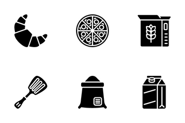 Bakery Shop Icon Pack