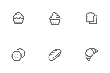 Bakery & Sweet Icon Pack