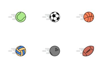 Balls Flat Icon Pack