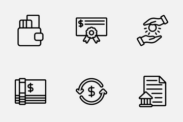 Bank Icon Pack