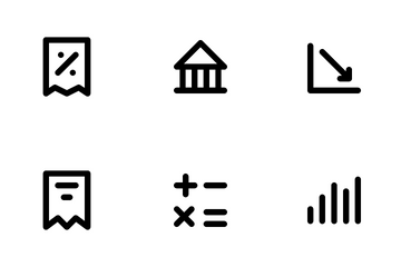 Bank And Finance Icon Pack