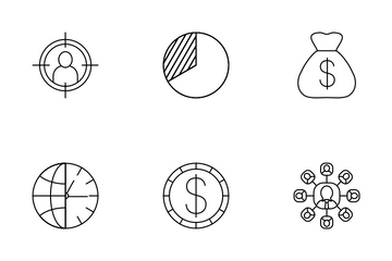 Bank Management Icon Pack