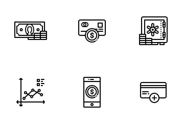 Banking And Finance Icon Pack