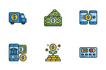 Banking Finance Icon Pack