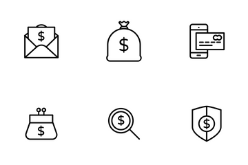 Banking, Finance & Payment Icon Pack